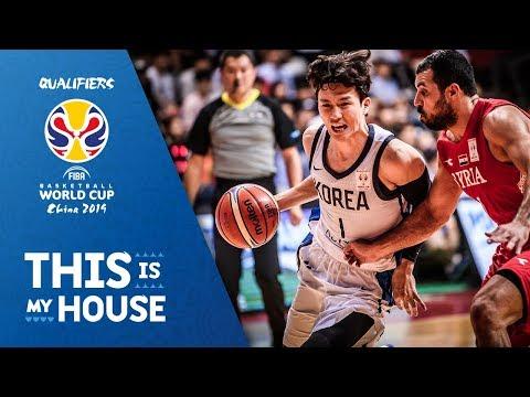 Korea V Syria - Highlights - FIBA Basketball World Cup 2019 - Asian Qualifiers