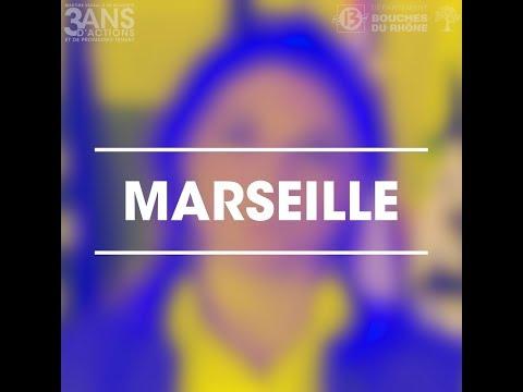 [MARTINE VASSAL] 3 ANS D'ACTIONS AUX CÔTÉS DES MARSEILLAIS