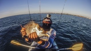 Kayak Fishing Moreton Bay