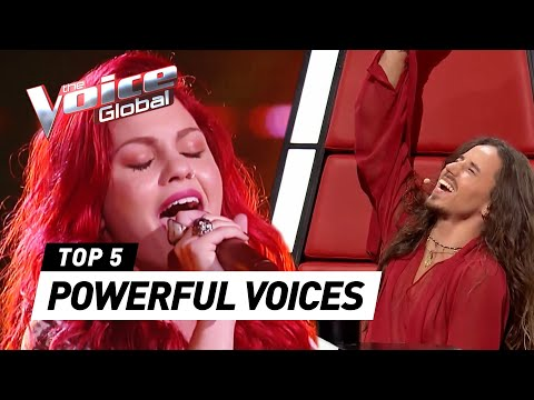 POWERFUL VOICES in The Blind Auditions of The Voice