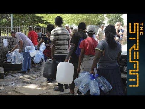 What impact is Cape Town's water crisis having on the poor?