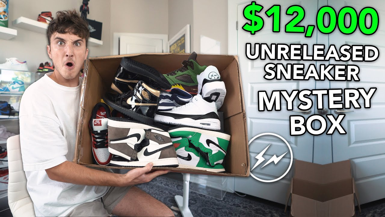 Unboxing A $12,000 Unreleased Sneaker Mystery Box... (INSANE)
