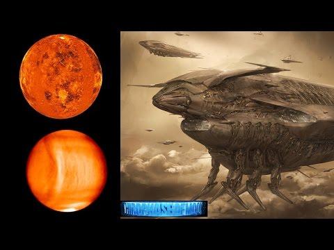 Mega Alien Structure Creates 6200 Mile Long Wave On Venus! 1/16/17