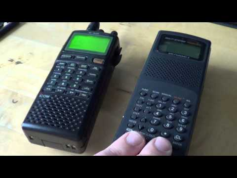 Scanner radio VS Communications receiver