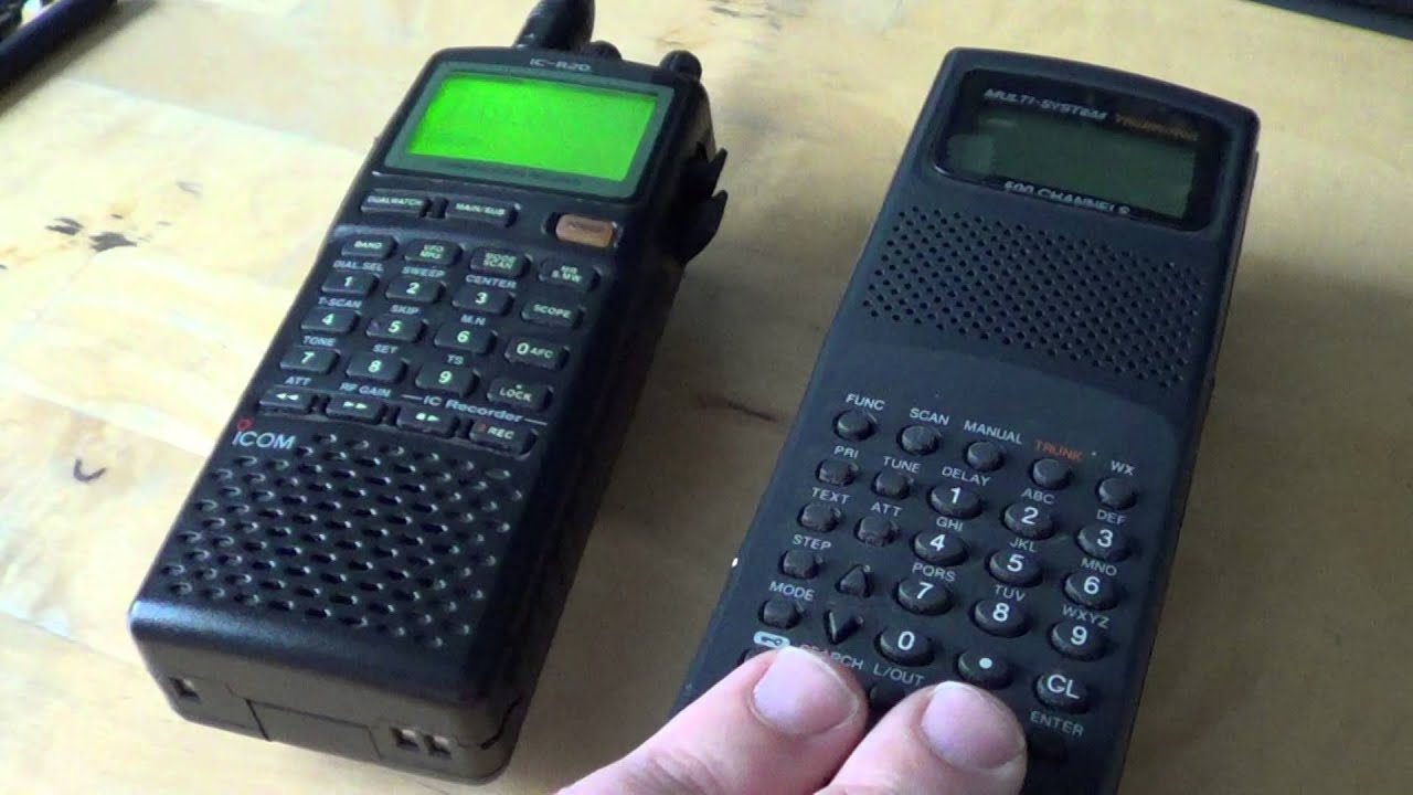 how to build a radio scanner