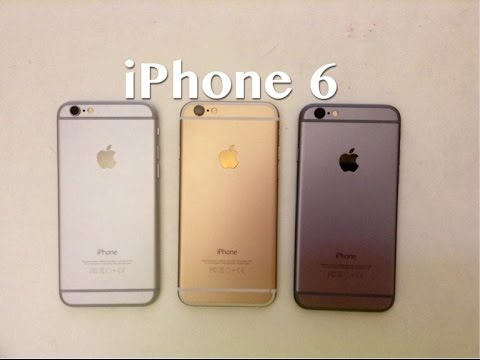 iphone 6 in gold silver space grey youtube. Black Bedroom Furniture Sets. Home Design Ideas