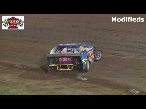8-26-2016 Modifieds Cedar Lake Speedway