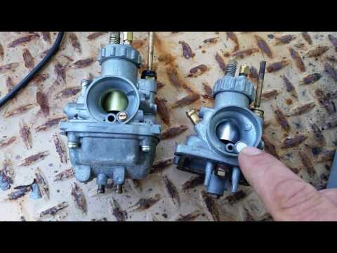 KE100 carb repair talk  part 1