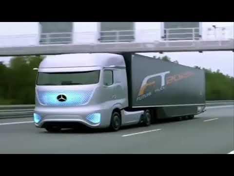 Mercedes Benz ! Les plus gros camions du monde !