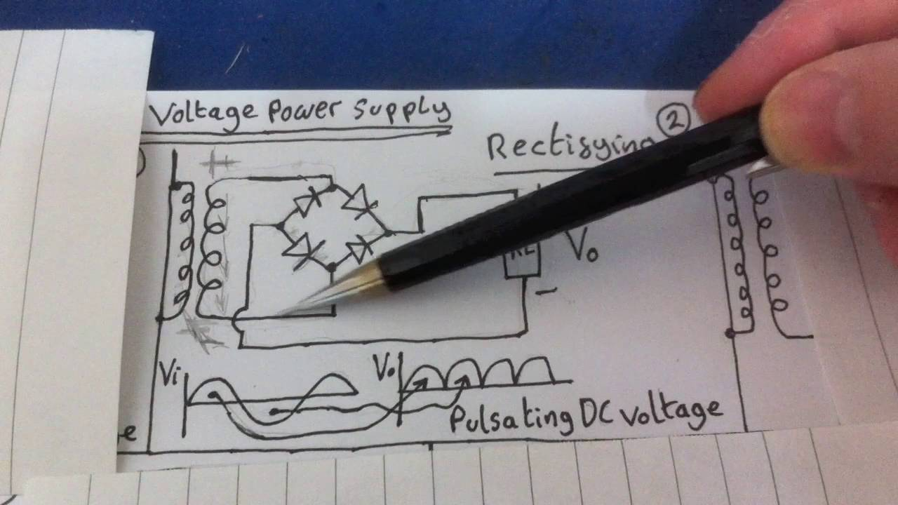 Linear Power Supply Circuit Walkthrough Youtube Com Circuitdiagram Powersupplycircuit Theinvertercircuit10html