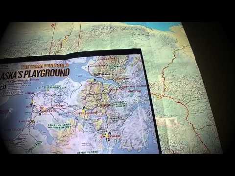 Alaska July 4  2015 Steve Konig - Road Trip Map
