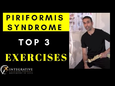 Physical Therapy Video: How to fix sciatic pain & piriformis syndrome
