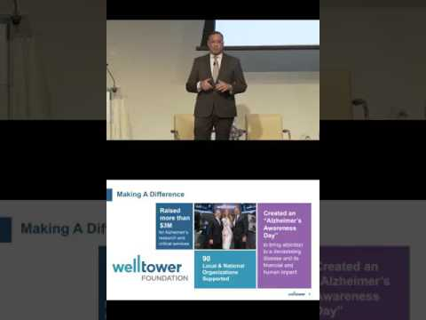 Thomas DeRosa, CEO & Director, Welltower Inc. presents at the CEO Investor Forum, February 2017