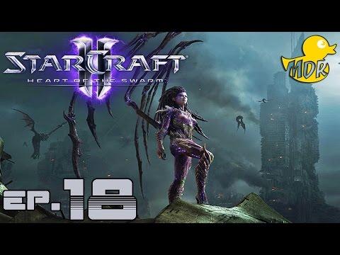 StarCraft II : Heart of the Swarm #18 - สู่การแก้แค้น...ที่ยังดำเนินต่อไป!?