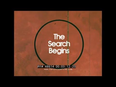CARL SAGAN  MARS THE SEARCH BEGINS   NASA MARINER & VIKING MISSIONS  48614