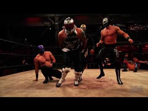 Pentagon jr y Prince Puma vs The Disciples of Death LUCHA Underground