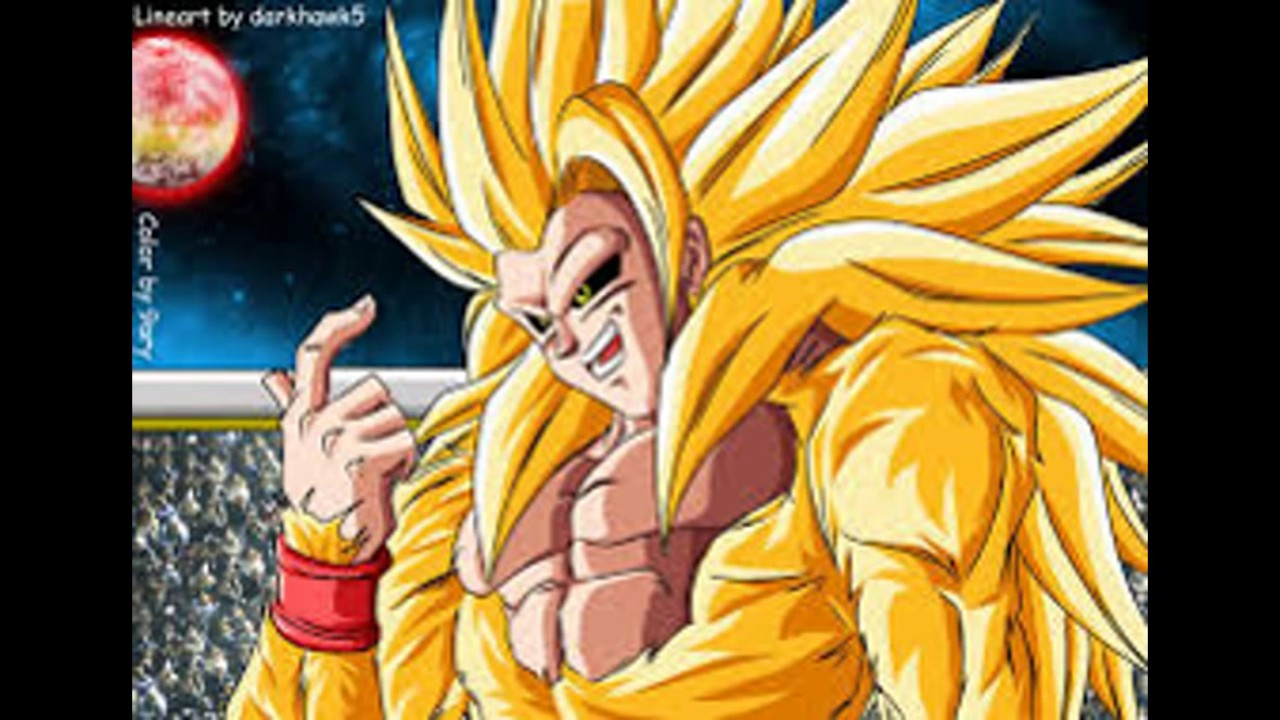 Goku Ssj 1 2 3 4 5 6 7 8 9 10 100 God Blue Youtube
