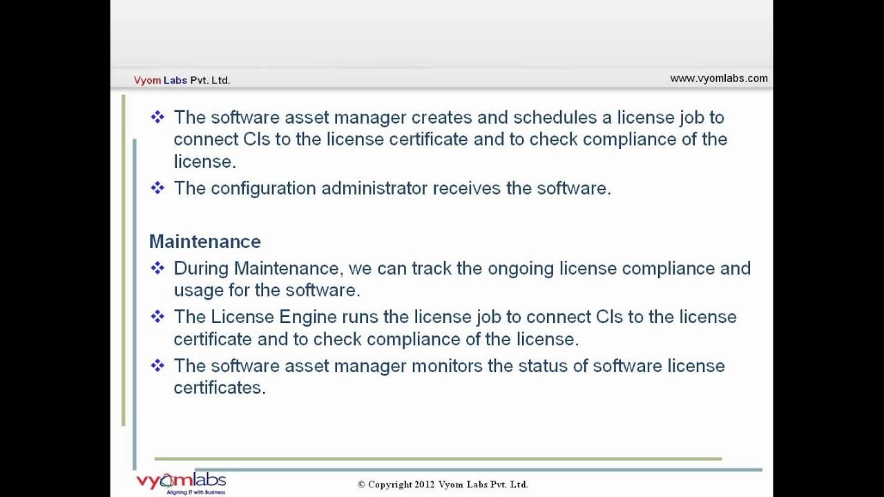Managing Software licenses efficiently using BMC Remedy Asset Management