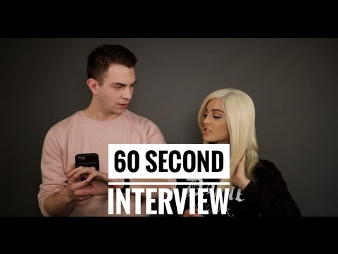 Bebe Rexha takes on the 60 Second Interview!