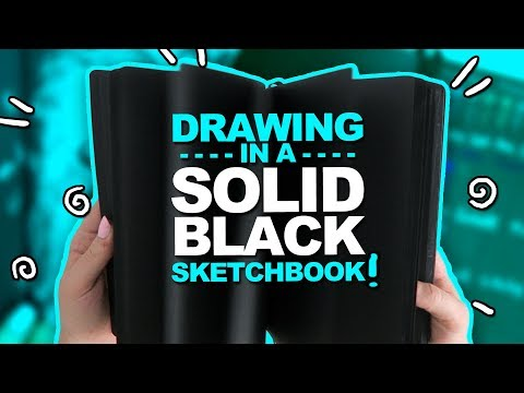 OMG! THIS WAS NOT EASY! | Mystery Art Box | Paletteful Packs Unboxing | Black Sketchbook