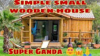 Simple Small Wooden House