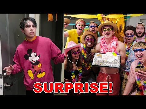 SURPRISE BIRTHDAY PARTY BUT ITS NOT HIS BIRTHDAY