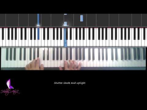 Piano Play Along 03: Color Blind - Counting Crows. Piano Chords Notes Lesson