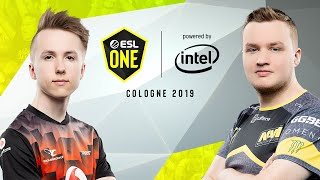 CS:GO - Mousesports vs. NaVi [Inferno] Map 1 - Group A - ESL One Cologne 2019