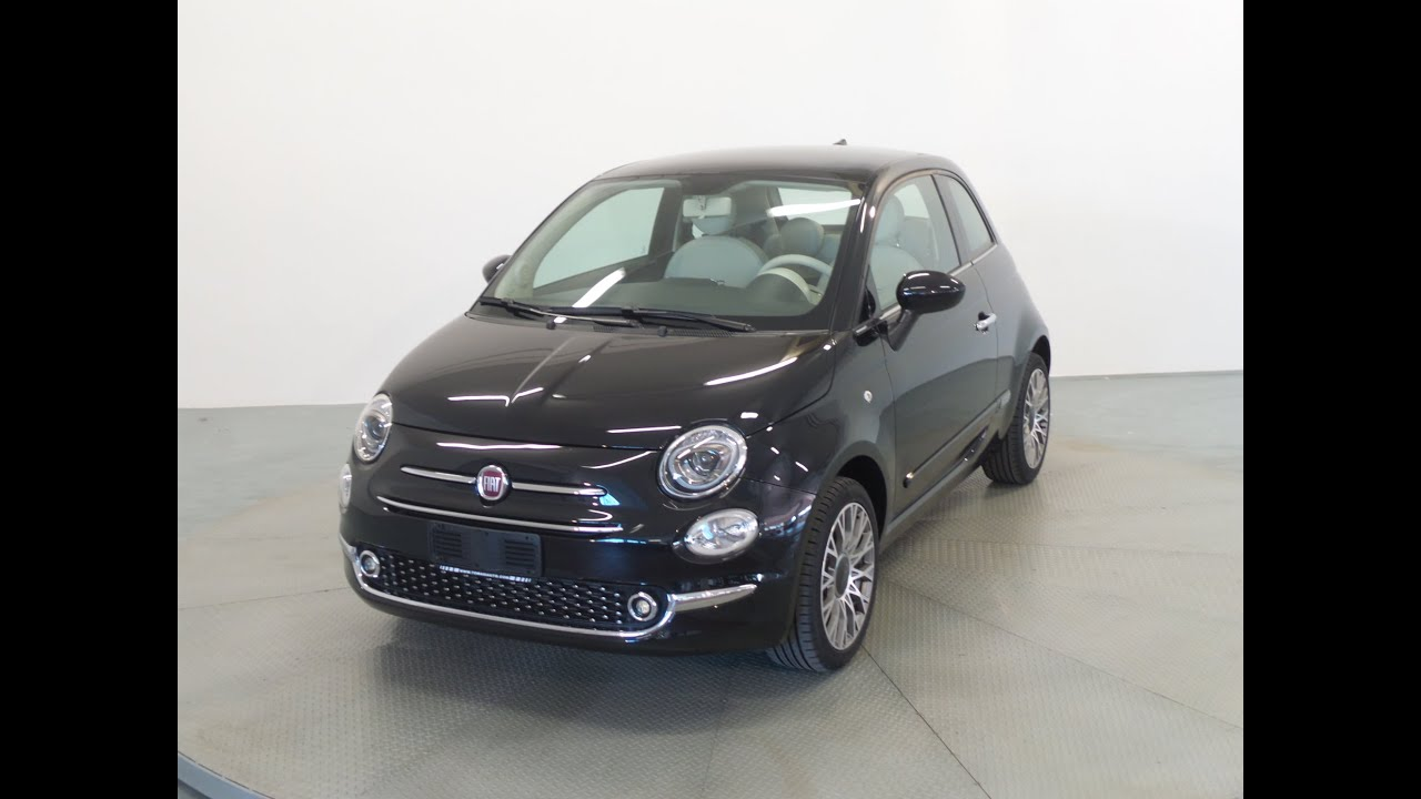Fiat 500 1 2 Lounge Nero Vulcano Restyling 2016 Youtube