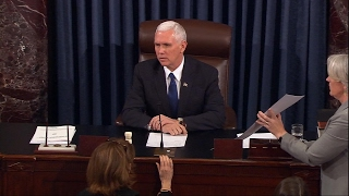 Vice President Pence Casts Decisive Vote to Confirm Betsy DeVos as Secretary of Education