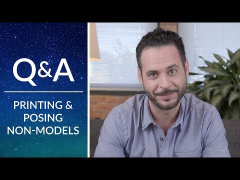 Phlearn Q&A | Printing Tips and Posing Non-Models