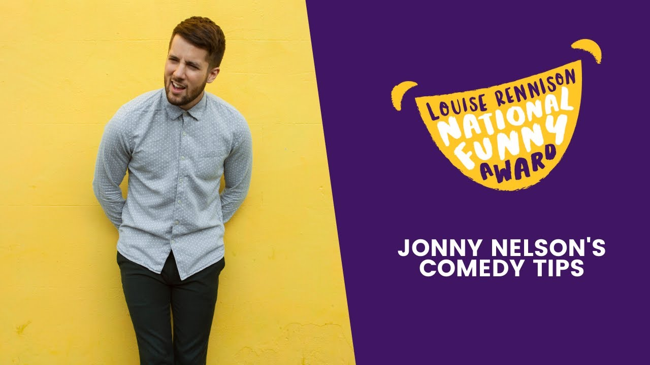 Comedy Tips from CBBC Presenter Jonny Nelson | Louise Rennison National Funny Award