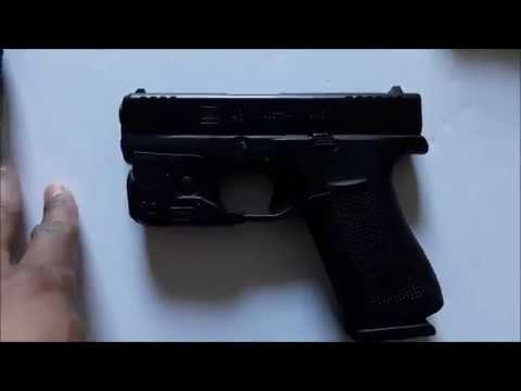Glock 43X 9mm Subcompact Pistol with Ameriglo Night Sights, Two Tone -  PX435SL301