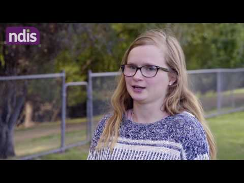 NDIS Stories - Kaitlyn's school to employment story (SLES)