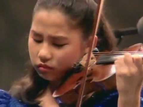 Paganini violin concerto 12 years old