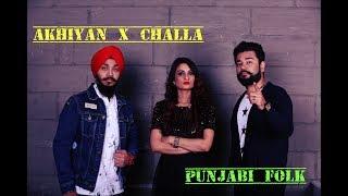 Download Akhiyan and Challa    Punjabi folk    Rashmeet Kaur    Devenderpal Singh    Jayant Patnaik MP3 song and Music Video