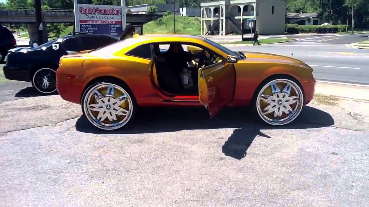 Monte Carlo S Bmw Camaro On 30s Ect Youtube