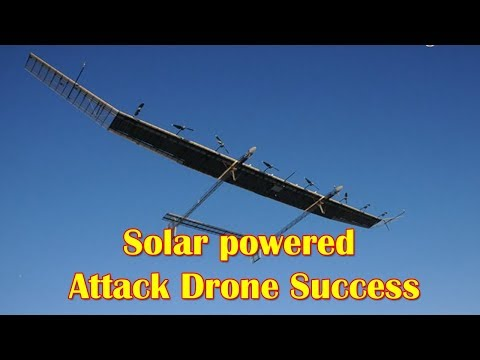 China Claims Solar-powered Attack Drone Success