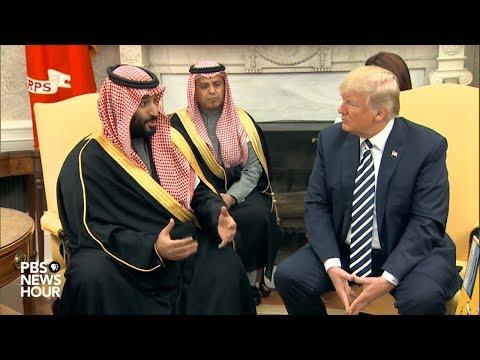 WATCH: President Trump holds meeting with Saudi Arabian Crown Prince