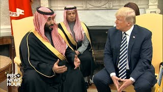 WATCH: President Trump holds meeting with Saudi Arabian Crown Prince