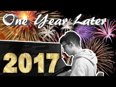 One Year Later - 2017 Piano Medley | DOMINIK