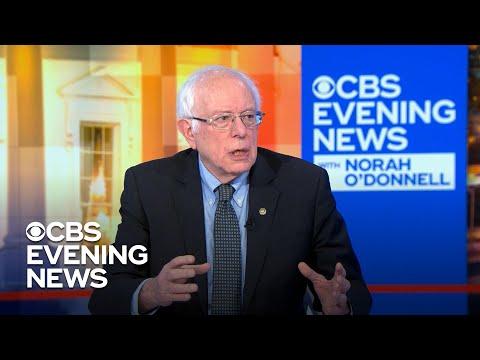 Bernie Sanders On The Cost Of His Health Plan And Joe Biden