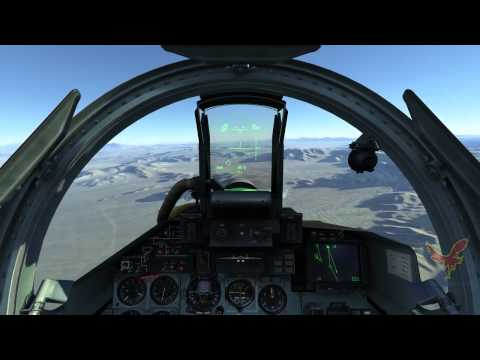 DCS World 2 - Nevada Test and Training Range Map