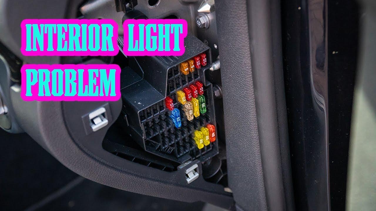 2017 Honda Civic Interior Lights Not Working