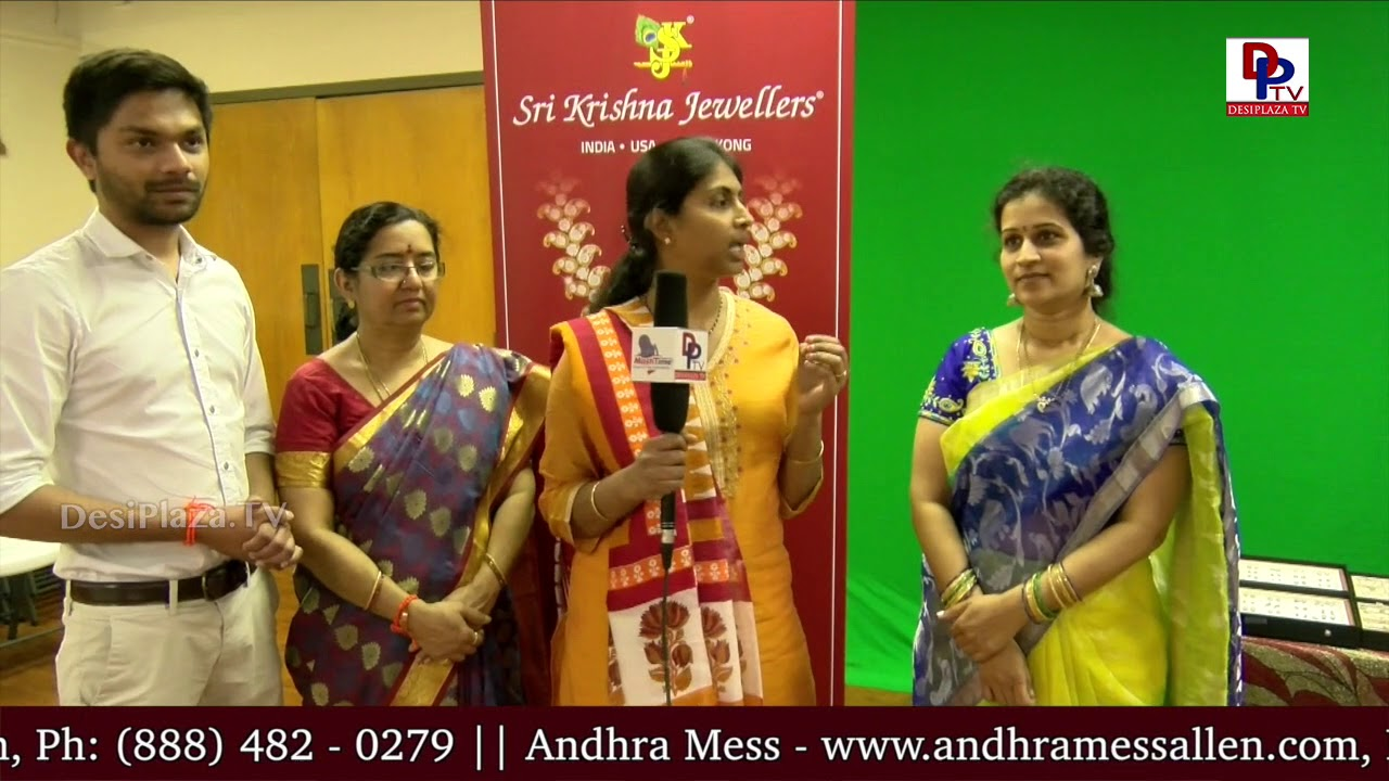 Lady speaks to DesiplazaTV at SriKrishna Jewellers public display show || DesiplazaTV Studios