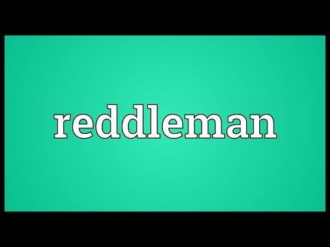 Header of reddleman