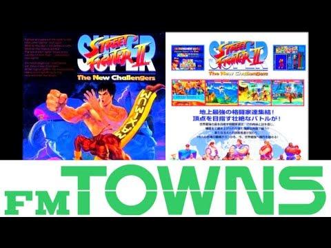 ザンギエフ(Zangief) - SUPER STREET FIGHTER II for FM TOWNS(富士通,FUJITSU)