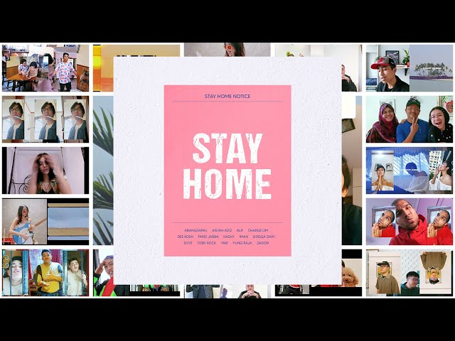 Universal & Friends Present: Stay Home (Official Music Video)