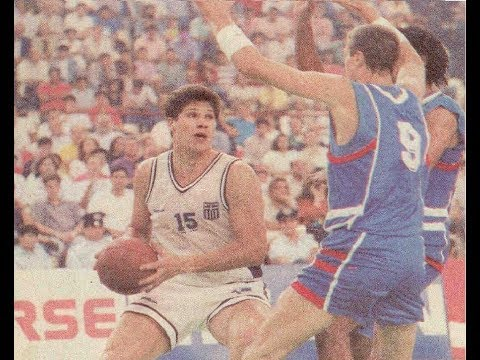 1991 Centennial Jubilee Tournament (ΙΩΒΗΛΑΙΟ): HELLAS - FRANCE 90-80 (DAY 1)