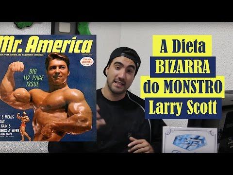 A Dieta Bizarra do Monstro Larry Scott